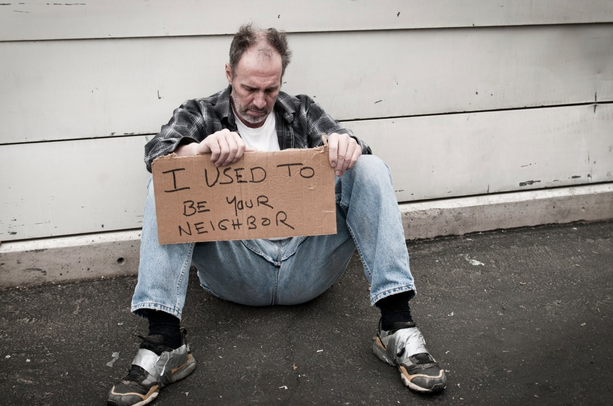 What if it was you? #Homeless